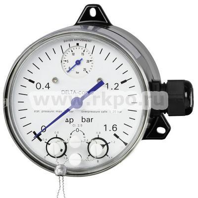 Манометры дифференциального давления с микропереключателями DPGS40TA фото 1
