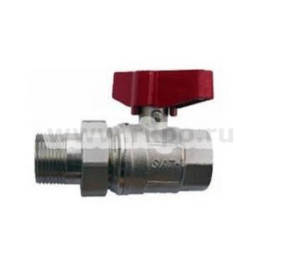 Кран шаровый муфтовый для воды EUROPA 1EU098 SATEC фото 1