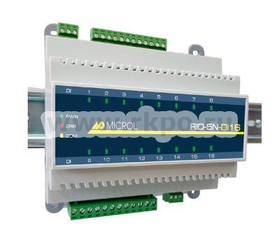 Модуль 16-ти канальный дискретного ввода RIO-5N-DI16 - фото