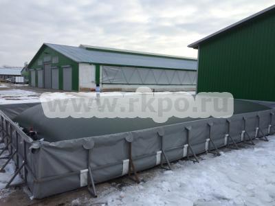 Резервуар для КАС, жидких удобрений Гидробак 50 м.куб. фото 1