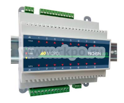 Модуль аналогового ввода RIO-5N-AI8 - фото