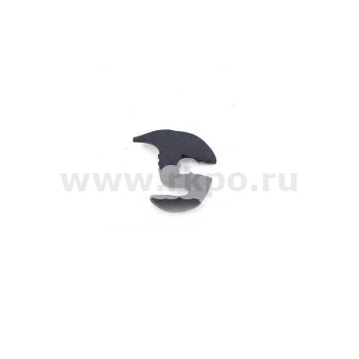 Уплотнитель стекла нижнего дверей ЮМЗ 45Т-6708027 (L-1500мм)